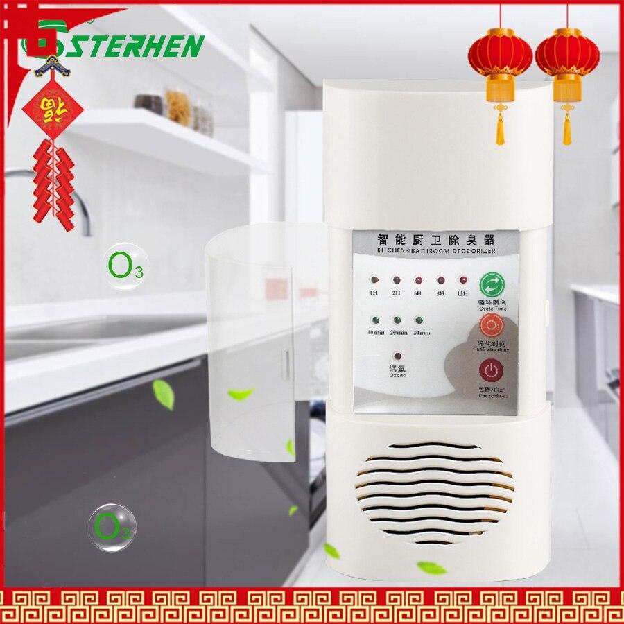 Filtro de aire doméstico purificador esterilizador de ozono montado en la pared generador de ozono 110V 220V purificador de aire desodorizador PARA LA ELIMINACIÓN DE fomadehído