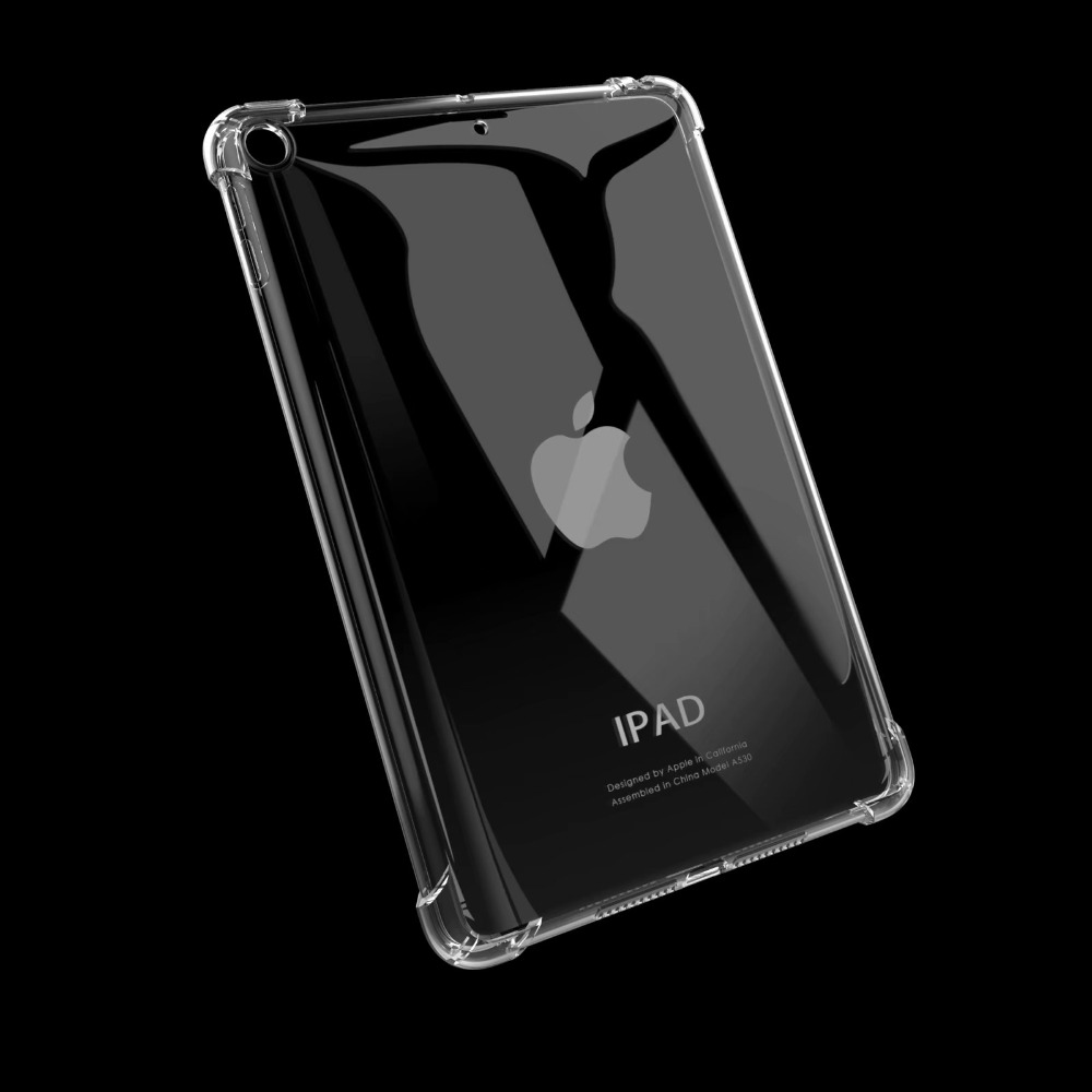 10.2 Apple 2020 2019 Drop iPad iPad For Resistance Soft 10.2 TPU Cover Case Silicon for