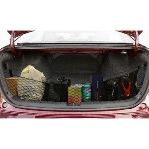 Image 5 - Auto Veranstalter Hinten Lkw Lagerung Tasche Gepäck Netze Haken Dumpster Net Für Ford F150 F650 Atlas Abendessen Duty Ranger Zubehör