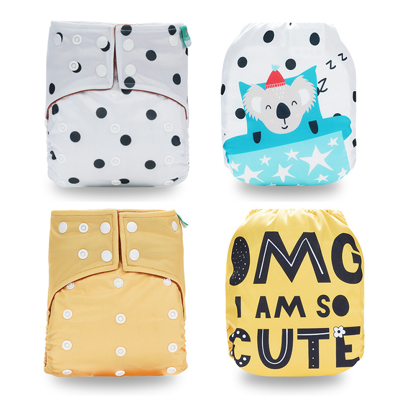 Coffee Velvet Baby Leak Proof Diapers Supplies Maternity Remove Smell Baby Nappy Diaper Waterproof Cloth Bags Newborn Clean Care