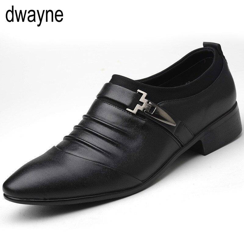 Leder schuhe herren kleid stiefel classic slip on herren formale schuhe männer zapatos oxford hombre herren schuhe italien 698