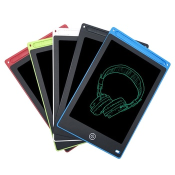 Tabliczka do rysowania tablica cyfrowa elektroniczny inteligentny Notebook 8 5 Cal inteligentny Tablet do pisania LCD w kategorii notesy grafiki zarządu pisma tanie i dobre opinie Samoprzylepne WT8506 Podkładki memo red blue green black white color Office kids Memo Pads 6 5 8 5 10 12 inch lcd writing tablet