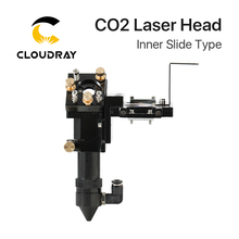 Cloudray Hot Selling CO2 Inner Slide Type CO2 Laser Head with Air Assist Nozzle for Inner Rail
