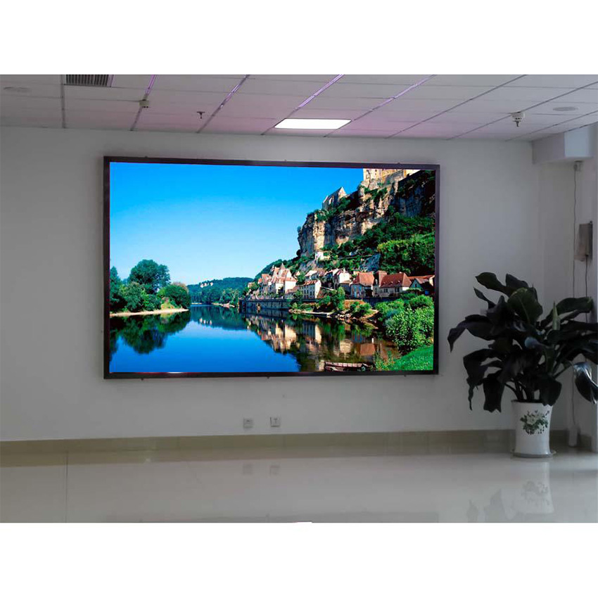 640x640mm Indoor P10mm Full Color Large Led Video Wall, LED Display Screen Panel, Led Billboard For Church
