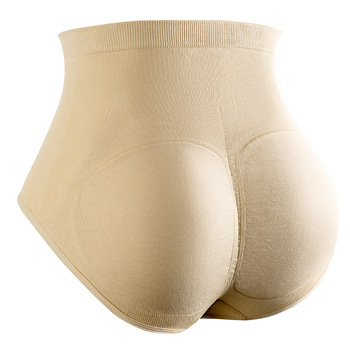 Padded Mid Waist Butt Hip Enhancer Underwear