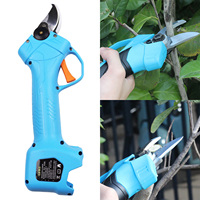 800W 16.8V Electric Pruning Scissors 0 25mm Pruning Shears Garden Pruner Secateur Branch Cutter Cutting Tools with 2pcs Battery