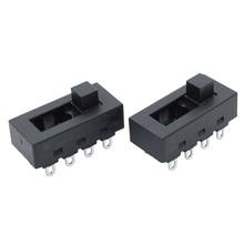 2 sztuk 12A 250V 3 pozycja 8 Pin przełącznik slajdów przełącznik DIP LQ 103H suszarki do włosów na gorące chłodne pozbawiające tchu dla JJ 15 obsługi Philips Flyco FH6218/20/21/31