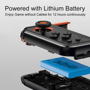 Image 5 - Baseus PUBG Mobile Gamepad Wireless Joystick Game Controller Bluetooth Joystick For IOS Android Mobile Phone Game Pad GAMO