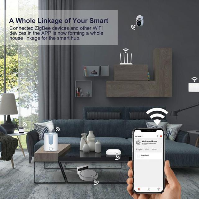 Hub ZigBee 3.0 Tuya Wifi 3