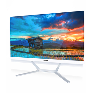 Cheap Price White 23.8 Inch Monitor for Computer