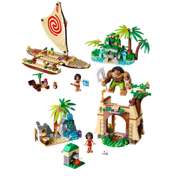 2019 Moana Ocean Voyage Restore The Heart of Te Fiti Set Building Blocks Princess