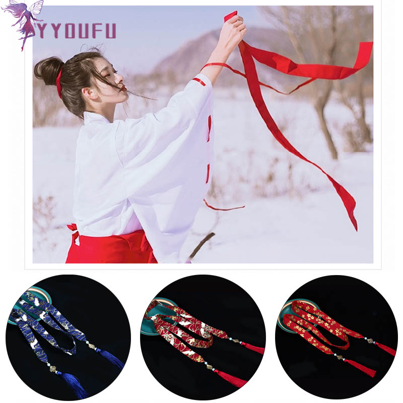 2019 New Style Hanfu Hair Band Accessories Chinese Style Costume COS Headdress Daily Embroidery Hair Accessories Hair Rope
