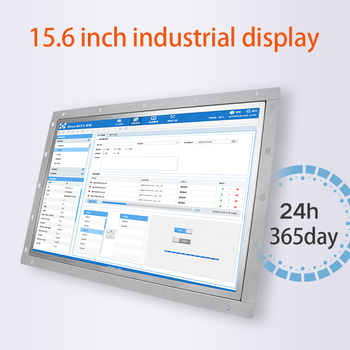 цена на 15.6 Inch Monitor Hdmi Display Touch Usb Open Frame 1366*768 Resistance Screen TV AV BNC VGA Not Touch Monitor