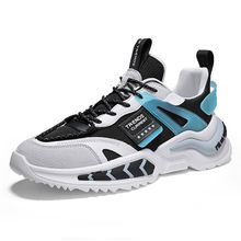 Hommes chaussures de course confortable lumière décontracté hommes Sneaker respirant antidérapant en plein air marche vêtement homme résistant Sport papa chaussures