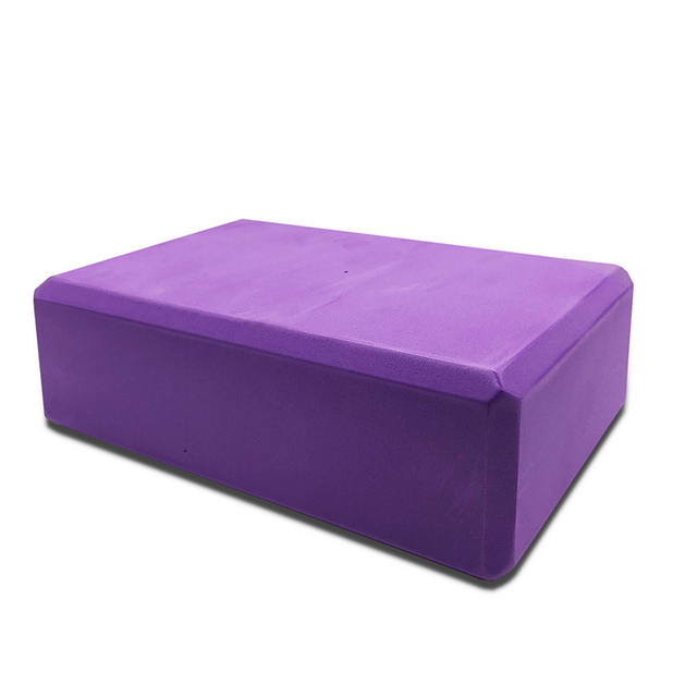 10Colors EVA Yoga Block Brick 120g Sports Exercise Gym Foam Workout Stretching Aid Body Shaping Health Training Fitness Sets T 3
