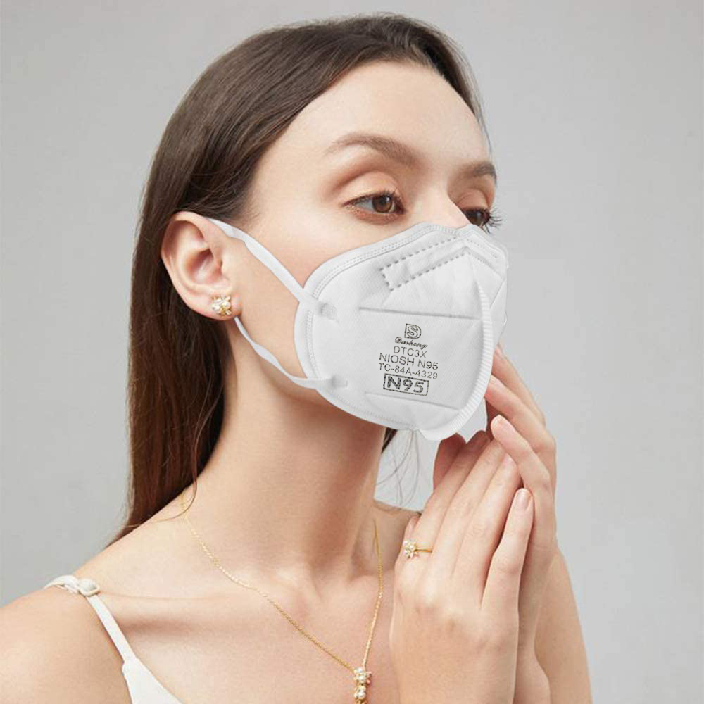 N95 Mask Particulate Respirator Face Mask (20pcs)