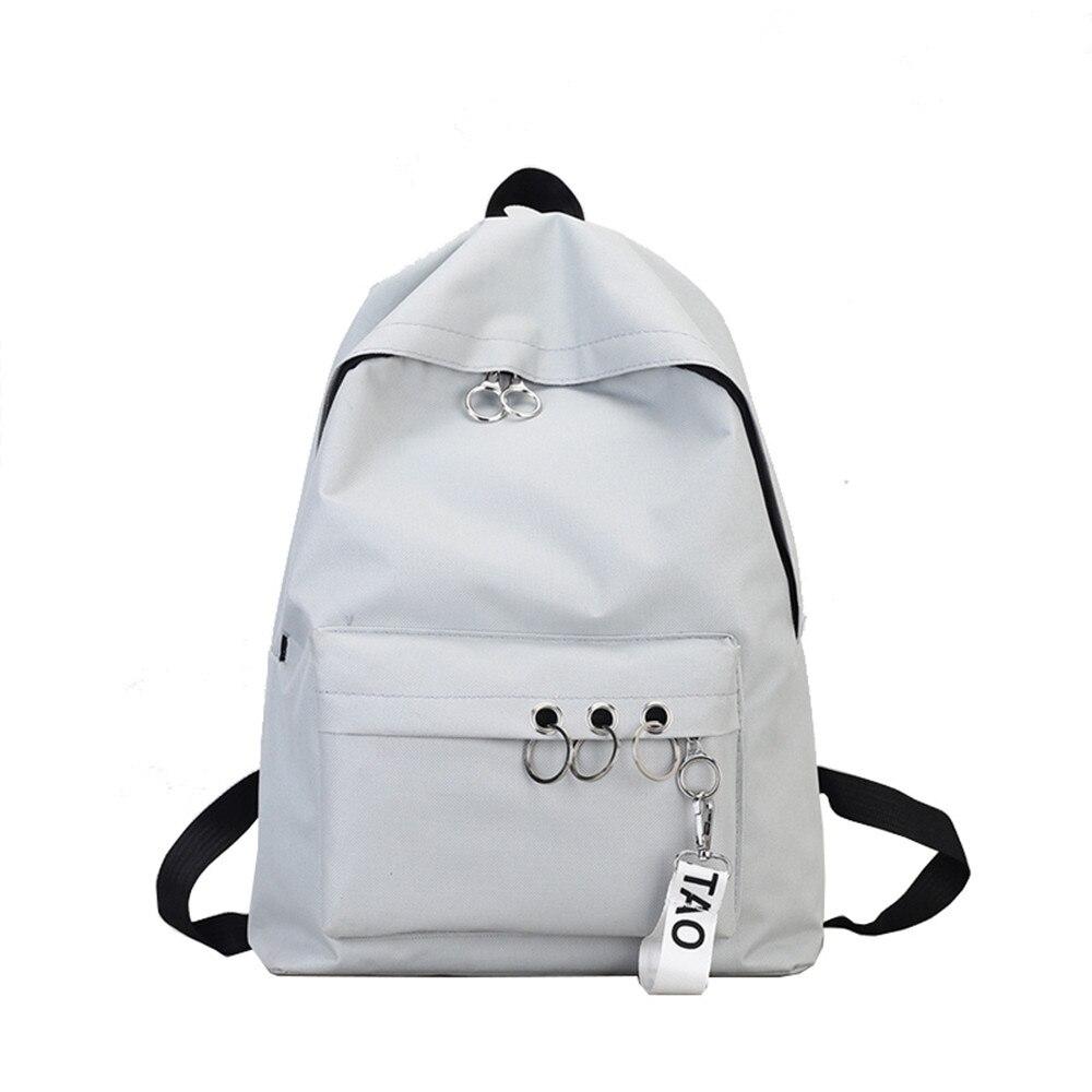 Student Ulzzang Schoolbag Female Korean Campus Students Simple Mori Backpack Harajuku Style Backpack