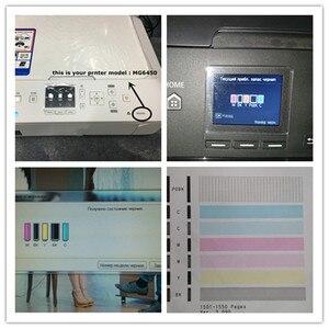Image 5 - PGI 570 CLI 571 refill ink kit For CANON pixma MG7750 MG7751 7752 7753 TS8050 TS9050 printer + 6 Color Dye Ink 100ml