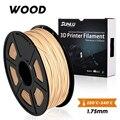 SUNLU 1,75 MM HOLZ FILAMENT 3D Drucker Filament 1KG 1,75mm Niedrigen Geruch Dimensional Genauigkeit +/-0,02mm