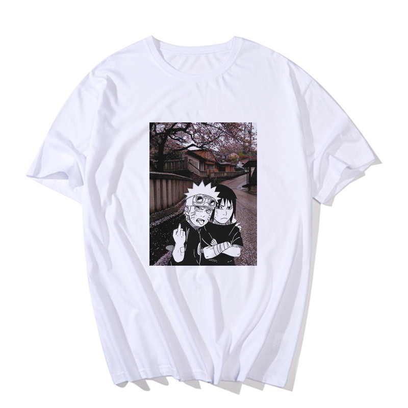 חדש Harajuku נארוטו חולצת טי Streetwear נשים מקרית קיץ אמין חולצה מזדמן הדפסת קריקטורה נשי חולצות מצחיק יפן T חולצה