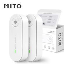 MITO – lot de 2 répulsif ultrasonique d'insectes, anti-moustiques électroniques, souris araignée cafard, Insecticide antiparasitaire