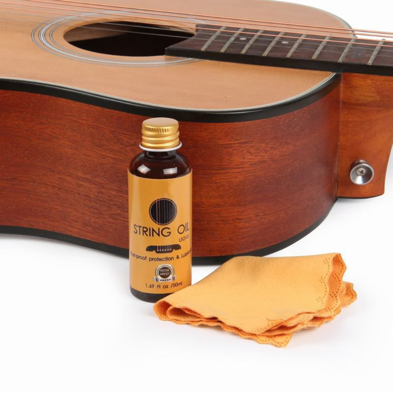 50ml String Oil Rust-proof Protection Lubricant Guitar Stringed Instrument Lubrication And Maintenance Q1FF