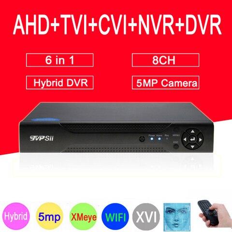 xmeye deteccao de rosto h 265 hi3521d 5mp 8ch 8 canais de vigilancia gravador video