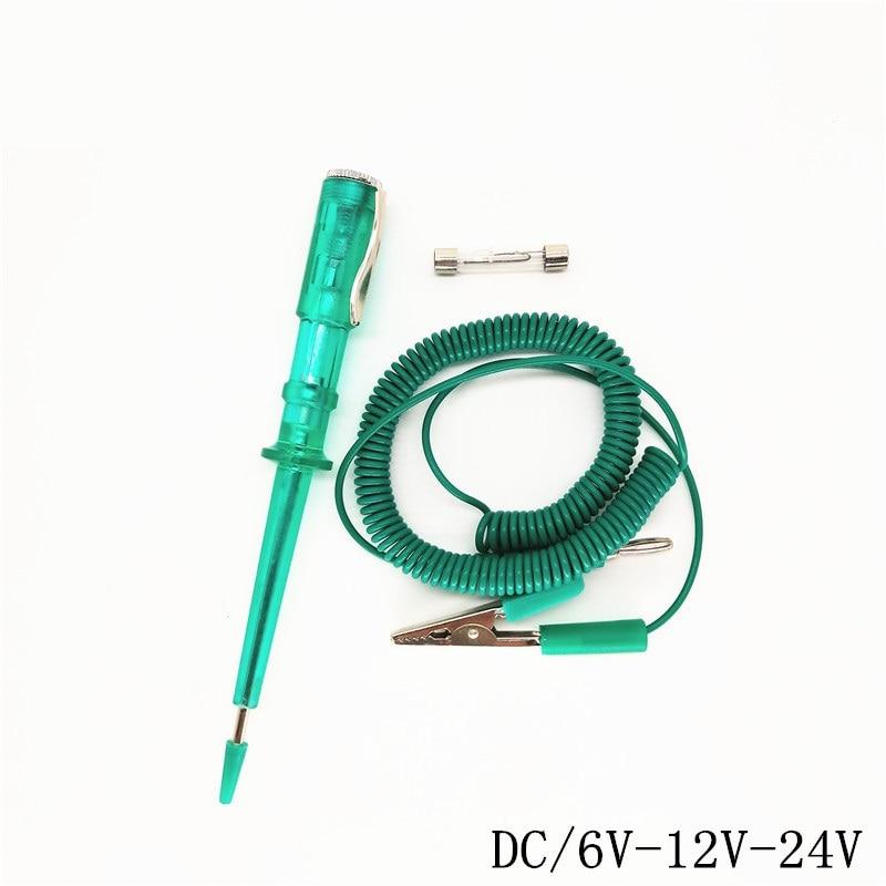 Professional Car Repair Test Pencil Screwdriver DC 6V 12V 24V Universal Test Pencil Screwdriver Car Repair Tool