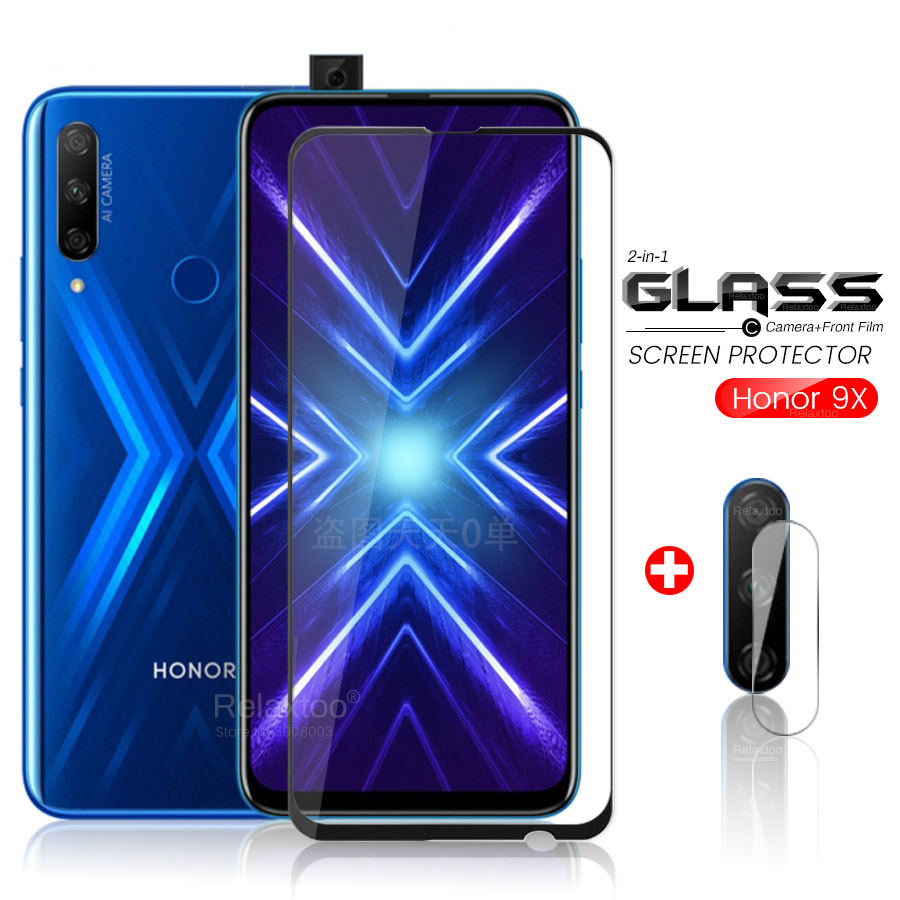 glas honor 9x glass protective glass on honor 9x premium honor9x global edition stk-lx1 6.59'' camera lens film on honer 9 x x9