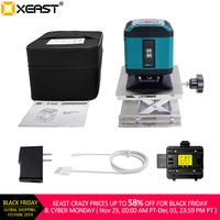 XEAST 306RG Mini Portable 5 Lines 4H1V Self Leveling 360 Degree line floor Laser Level tiling laser level