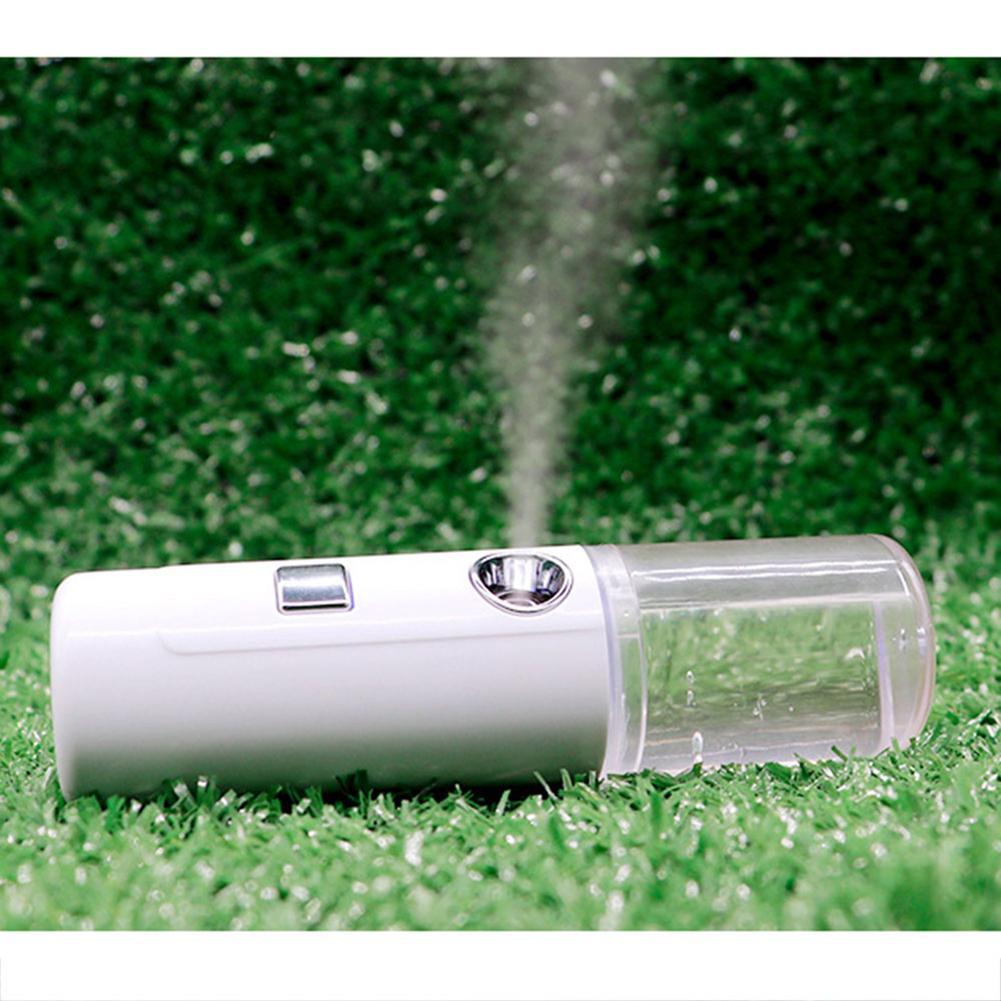 Handheld Nanomist Facial Humidifier Fog Water Steamer Beauty Hydrating Device Moisturizing USB Charging Mist Spray Instrument