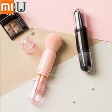 Youpin jordanjudy brocha de maquillaje portátil telescópica, pincel corrector para principiantes, brocha para sombra de ojos