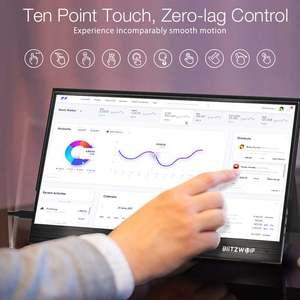 Image 4 - Blitzwolf BW PCM3 15.6 インチfhd 1080p型cポータブルコンピュータ液晶モニター触れるゲーム表示画面スマートフォンラップトップ