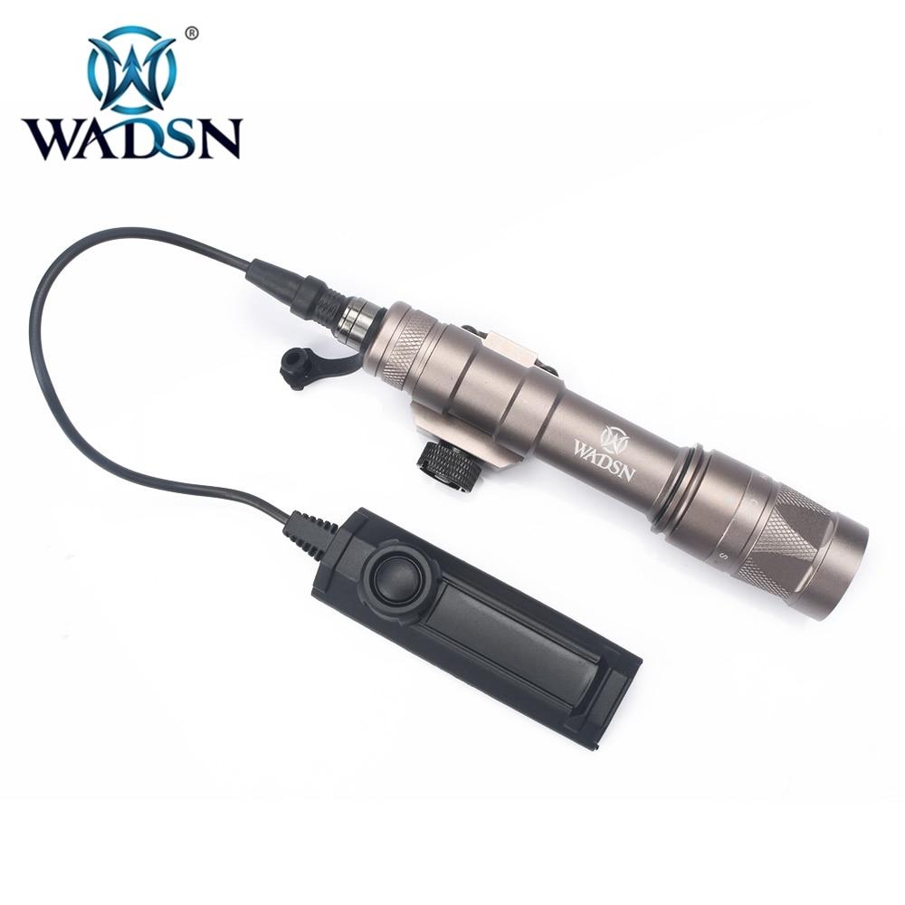 Wadsn softair lanterna m600w com dupla função