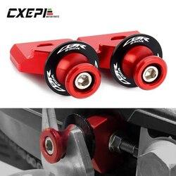 For Honda CBR650R CB650R CBR650F CB650F CBR 650R/650F Motorcycle CNC Chain Adjustment Block Frame swingarm Spools sliders