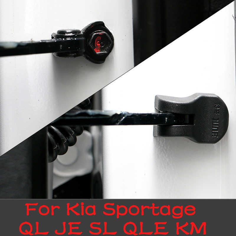 Защитный чехол для Kia Sportage QL JE SL QLE KM, 4 шт., 3D ABS, для дверных пробок, 2015, 2016, 2017, 2018, 2020, 2020, автомобильные аксессуары