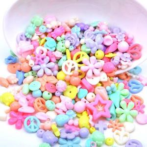 Image 3 - 500g Jewelry Necklace Bracelet Handmade String Bead DIY Girl Ornaments Educational Toy Children Toys