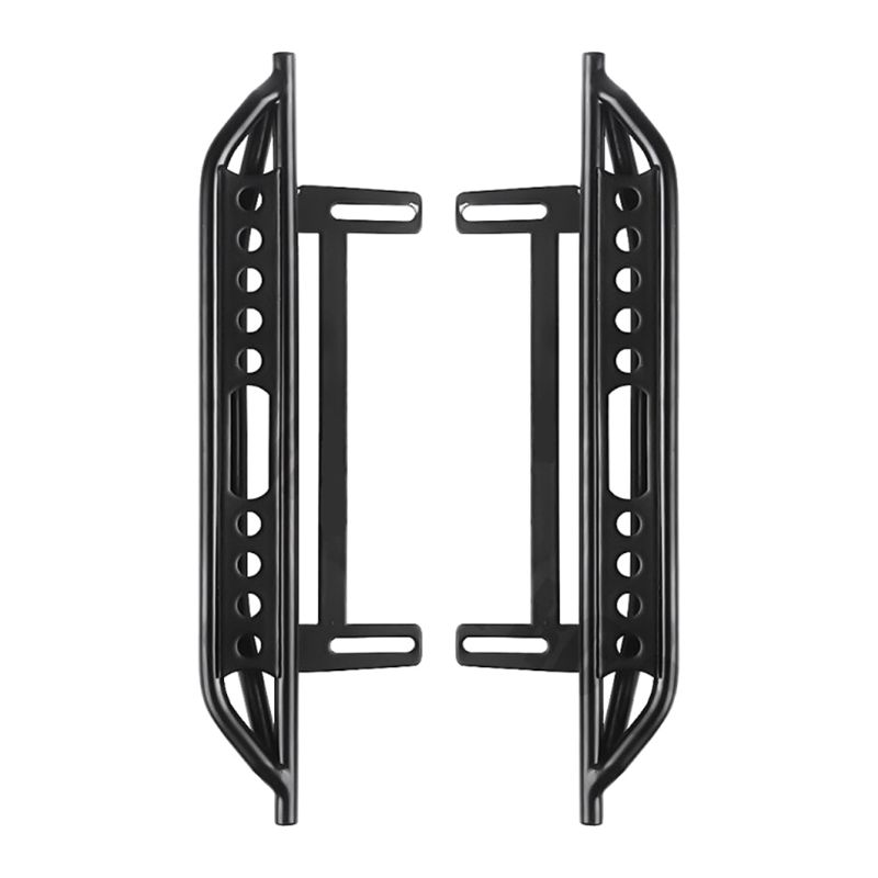 Image 5 - 1pair Metal Side Pedal and Receiver Box For 1/10 Jeep Cherokee Wrangler Axial Scx10 90046 90047 90048 95AEParts & Accessories   -
