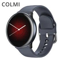 Colmi Cielo 2 Astuto Della Vigilanza IP68 Impermeabile Frequenza Cardiaca di Ossigeno Nel Sangue Del Bluetooth di Sport Degli Uomini di Forma Fisica Trakcer Smartwatch per Ios Android