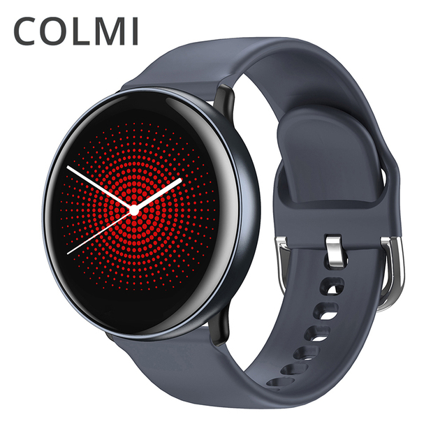 Reloj inteligente COLMI SKY 2 IP68 a prueba de agua ritmo cardíaco oxígeno en sangre deporte Bluetooth hombres Fitness Trakcer reloj inteligente para iOS Android