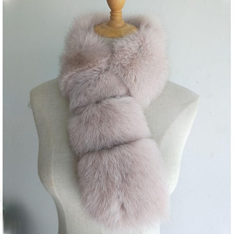 de Pele de Moda Inverno Quente Real