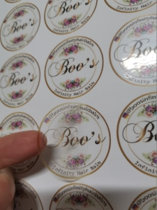 Image 2 - (1.37inches ) 35MM  Printing Custom Self Adhesive Logo Stickers Lables Personalized stickers labels   500pcs/lot