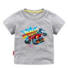 Модная футболка для маленьких мальчиков детские футболки блузки