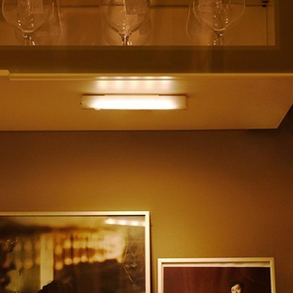Новый 4-светодиодный сенсорный датчик под шкаф поворотный толкающий шкаф лампа кран сенсорная палка на световых лампах селфи-палка
