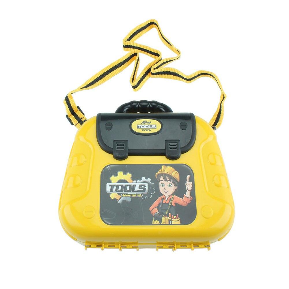 29 шт. ролевые игры для малышей антистресс развлечения с поясом садовые строительные игрушки детский набор инструментов коробка хобби прочный