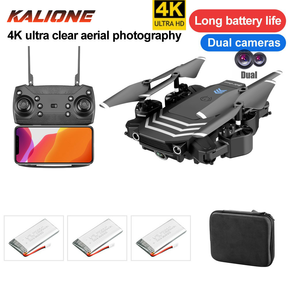 LS11 Drone 4k dual camera HD wide angle WIFI 1080P FPV Drone video live Recording Quadcopter altitude hold Drones rolling 360