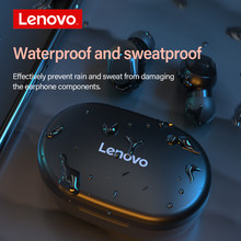 New Lenovo XT91 True Wireless Earbuds Bluetooth 5.0 TWS Earphone 300mAh 100H Stand by Type-C Touch Control With Mic Support Siri