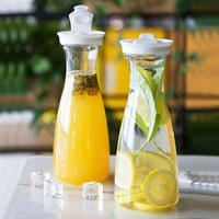 Casa de banho doméstica  1 un. garrafa de água do suco de plástico recipiente grande capacidade garrafa resistente ao calor