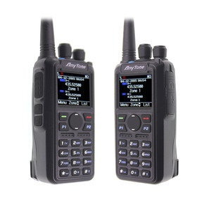 Image 3 - Anytone AT D878UV Plus Radio DMR VHF, 136 174MHz, UHF 400 470MHz, con GPS, APRS, Bluetooth, Walkie Talkie, estación de Radio aficionado con Cable