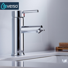 цена на New Arrival  Basin Faucet Brass Bathroom Basin Faucet Single Handle Hot Cold Water Sink Mixer Tap Torneira Do Banheiro